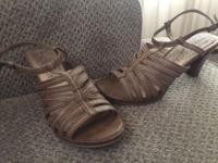 from Payless. Tan. 3in. Barely worn. Size 9.This ad was
