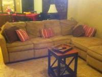 I am selling a Tan Microfiber Sectional. You can turn