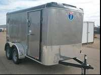 Have a look at our 6 x 12 enclosed cargo trailer at