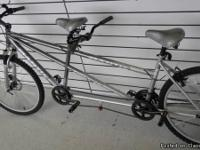 we have one like new mantis Tandem Bicycle for sale