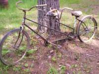 Bicycle is Hawthorne brand needs restoration ,am