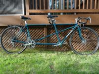 Excellent condition with saddle bags and rear storage.