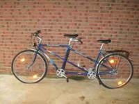 tandem bike made by feist belmont ....front and back