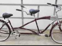 2009 TORKER BERMUDA TANDEM bicycle, used 2 times,