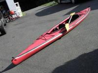 I have for sale a tandem kayak. It is an Aquaterra