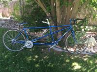 For Sale The Famous Ibis Easy Street Tandem exploring
