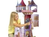 Gently Used Disney Tangled Featuring Rapunzel Fairytale