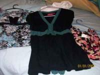 picture 1 has a teal and black shirt Size Large $3