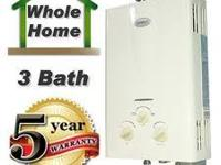 A picture is worth a 1000 words! Tankless water heater