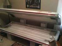 Sundash Wolf Tanning Bed for sale. 200 dollars worth of