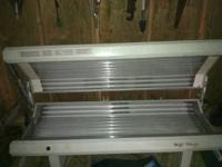 I have a wolf tanning bed it has 4 fans --24 bulbs the