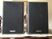 These are a pair of Tannoy PBM 5 II studio monitors.