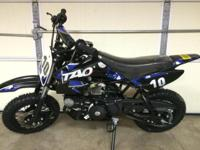 New 2015 TaoTao pit bikes I have these bikes in 110cc