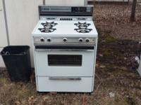 Tappen Gas Stove Range Oven Includes Self Cleaning