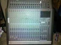 For sale is a tascam 1516 recording console. it has 16