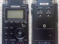 NEW Tascam DR-100 MKII. Professional Recorder. Up to