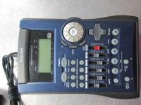 FOR SALE A TASCAM POCKET STUDIO 5 WITH POWER CORD IN