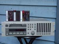 Tascam DA-38 Rack Mount. Comes with 6 tapes. Call Gary