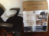 Task Chair with Arms-$25. Excellent, like brand name