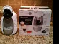 We are selling our Tassimo T20 espresso machine. We