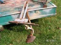 Layoff plow. $70. Lake Wylie, SC (Use the letters LWTM