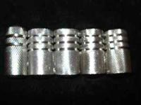 "I have (22) 1"" stainless steel tattoo grips"