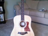 Fine-sounding Taylor 210e Acoustic/Electric: Excellent