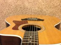 I have an excellent Taylor 214ce Acoustic/Electric