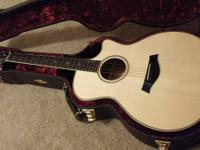 Up for sale is a 2012 Taylor GA Fall Limited guitar