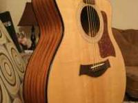 I'm selling my Taylor 114 ce guitar. It sounds amazing
