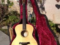 I'm selling my Taylor JKSM limited edition Guitar #176