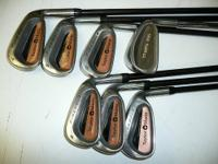 Taylor Made Clubs R-80 Bubble firesole clubs 4 thru 9