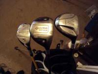 Up for sale are a few extra golf clubs I have sitting