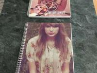 2 Taylor Swift Spiral Lined Notebooks Brand new -$1 ea.
