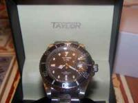 Taylor Swiss Nautilus Series Watch. This watch is new,