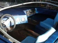 UNUSUAL !!! Collectible !!! 1972 Tayor SS speed boat.