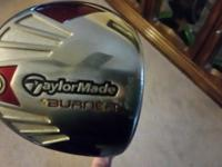 Taylormade Burner 460 driver 10.5 with cover Normal