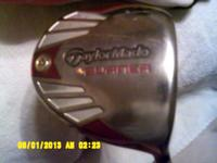 REDUCED---  TAYLORMADE BURNER    10.5  DEGREE W/