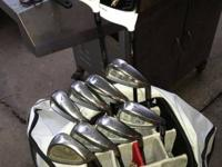 I have a set of taylormade rac irons 4-pw regular flex