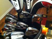 I'm selling my whole set of Taylormade clubs with
