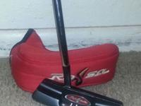 Lambeau Rossa RSI Taylormade Putter, with sock. In