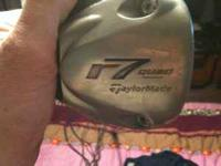 For sale one right handed TaylorMade R7 driver. Club