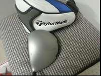 Taylormade SldrS motorist with 12 loft. Graffaloy blue