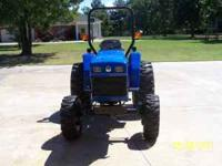 2008 TC 30 NEW HOLLAND 4WD TRACTOR ONE OWNER TRACTOR