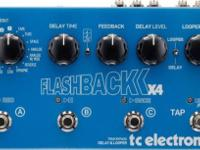 TC Electronic Flashback X4 Delay and looper pedalThe TC