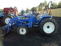 We can get you financed. Great compact tractor with