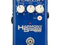 TC Helicon Harmony Singer with Reverb / New in Box