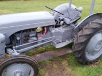 TE20 Ferguson tractor, tight steering, all fluids