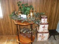 Tea Cart Gold plated ....3 wine boxes...5wine