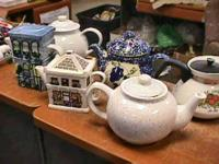 tea pot collection -- sold seperate  Get there 1st and